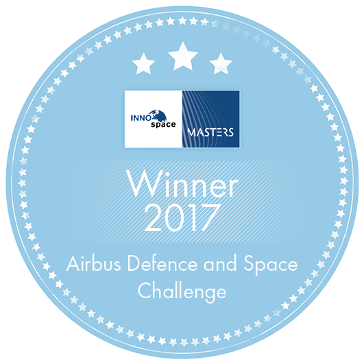 Winner 2017 Airbus Defence and Space Challenge Label