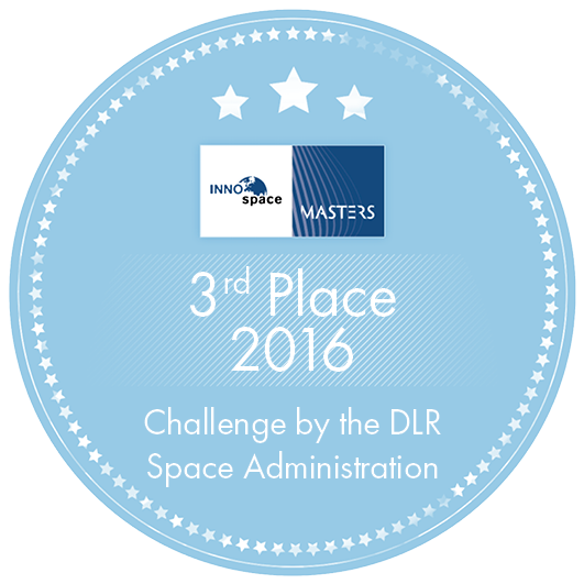 3rd Place 2016 Challenge by the DLR Space Administration Label