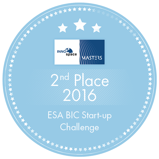 2nd Place 2016 ESA BIC Start-up Challenge Label