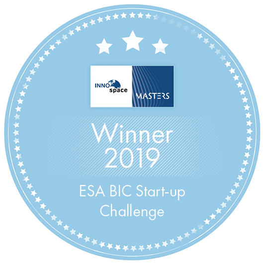 Winner 2019 ESA BIC Challenge Label
