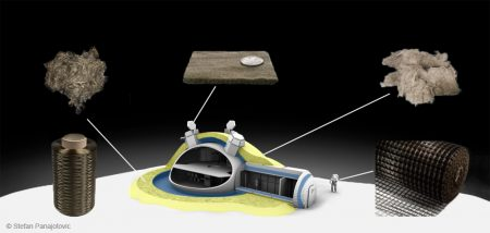 MoonFibre – Spinning Technology Fibres from Lunar Rock for