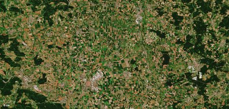 AgSat Satellite Picture of Agricultural Landscapes
