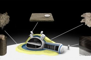 MoonFibre – Spinning Technology Fibres from Lunar Rock for Direct Use on Earth's Satellite